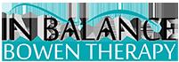 Inbalance Bowen Therapy Logo